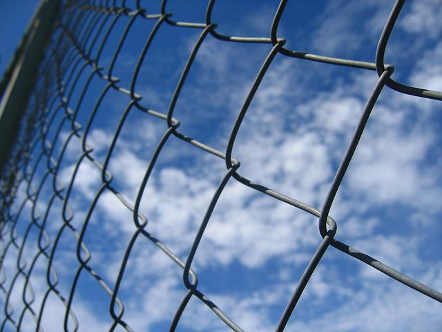 Fence Sky Image